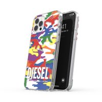 DIESEL +Pride Clear Case SS21 iPhone 12 / 12 Pro Colorful