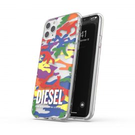 DIESEL +Pride Clear CaseSS21 iPhone 12 Pro Max Colorful