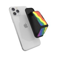 clckr UNIVERSAL GRIP&STAND Size S Rainbow