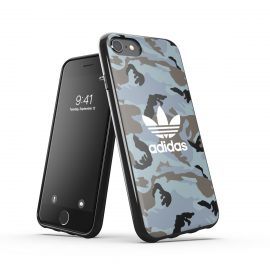 adidas Originals Snap Case Camo AOP SS21 iPhone SE(第2世代)Hazy Emeralds/Blue oxides