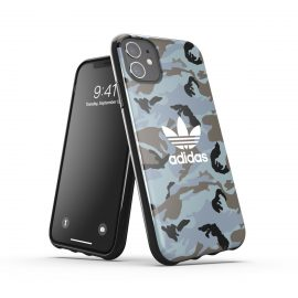 adidas Originals Snap Case Camo AOP SS21 for iPhone 11 Hazy emeralds/ blue oxides