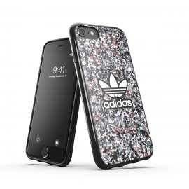 adidas Originals Snap case Belista Flower SS21 for iPhone SE(第2世代) Black/Hazy
