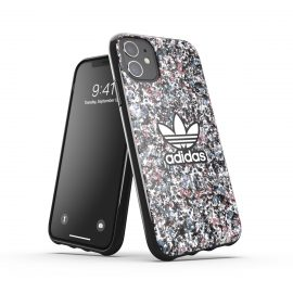 adidas Originals Snap case Belista Flower SS21 for iPhone 11 Black/Hazy roses/hazy