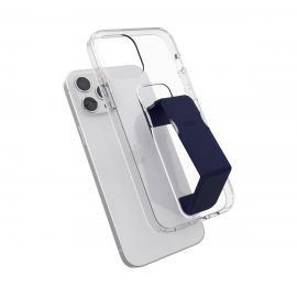 clckr Gripcase Clear iPhone 12 Pro Max Clear/Blue