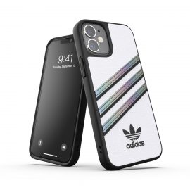 adidas Originals Samba Woman SS21 iPhone 12 mini White/ Holographic