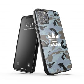 adidas Originals Snap Case Camo AOP SS21 for iPhone 12 / iPhone 12 Pro Hazy emeralds/ blue oxi