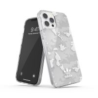 adidas Originals Snap Case Camo AOP SS21 for iPhone 12 Pro Max clear/white