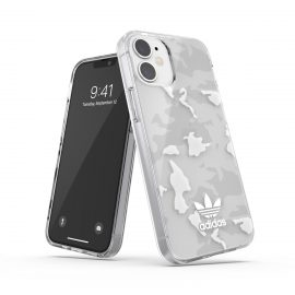 adidas Originals Snap Case Camo AOP SS21 for iPhone 12 mini clear/white
