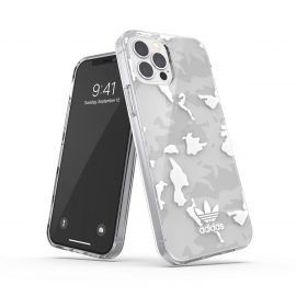 adidas Originals Snap Case Camo AOP SS21 for iPhone 12 / iPhone 12 Pro clear/white