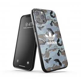 adidas Originals Snap Case Camo AOP SS21 for iPhone 12 Pro Max Hazy emeralds/ blue oxid