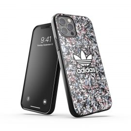 adidas Originals Snap case Belista Flower SS21 for iPhone 12 / iPhone 12 Pro Black/Hazy roses/