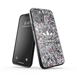 adidas Originals Snap case Belista Flower SS21 for iPhone 12 Pro Max Black/Hazy roses/