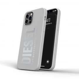 DIESEL Silicone Case SS21 iPhone 12 / 12 Pro White
