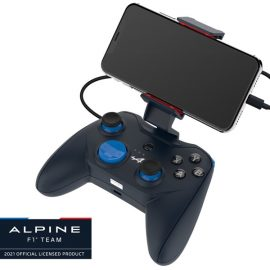 Lightning接続の有線型ゲームコントローラーが ROTOR RIOTとアルピーヌF1チームのコラボデザインで登場  2021年5月27日に販売開始