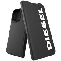 DIESEL Booklet Core iPhone 13 Pro Black/White