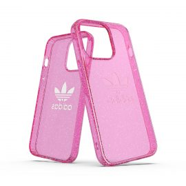 adidas Originals Protective Clear Glitter FW21 iPhone 13 Pro Pink