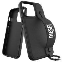 DIESEL Handstrap iPhone 13 Pro Black/White