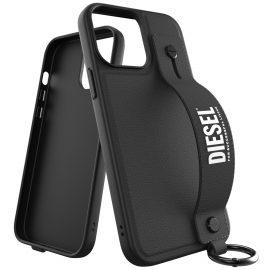 DIESEL Handstrap FW21 iPhone 13 Pro Max Black/White