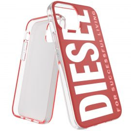 DIESEL Graphic iPhone 13 mini Red/White
