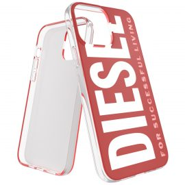 DIESEL Graphic FW21 iPhone 13 Pro Max Red/ White