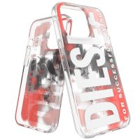 DIESEL Clear Military Brush iPhone 13 Pro Red
